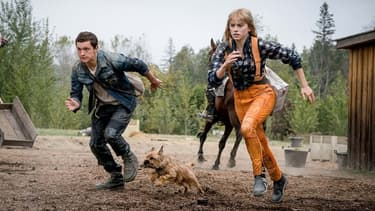 "Tom Holland et Daisy Ridley dans ""Chaos Walking"""