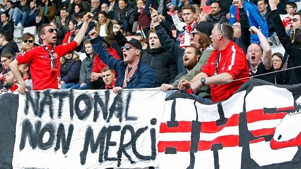 Les supporters nancéens