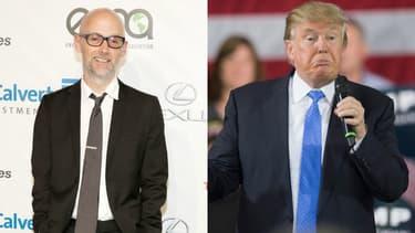 Moby et Donald Trump