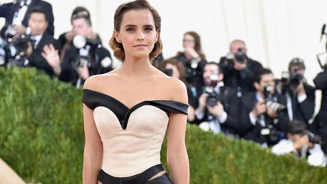 Emma Watson lors du Met Gala à New York le 2 mai 2016