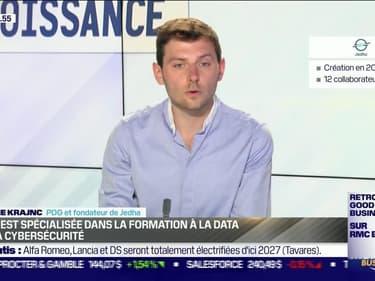 Antoine Krajnc (Jedha) : Jedha est spécialisée dans la formation à la data et à la cybersécurité - 03/08