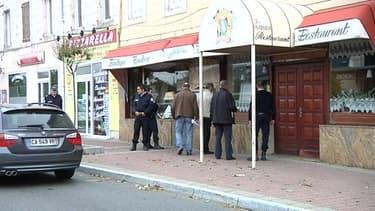 Le restaurant L'olivier où s'est déroulé le drame.