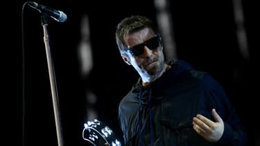 Liam Gallagher en concert à Benicassim en 2017