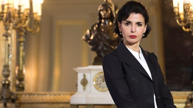 Rachida Dati dans son bureau de la mairie du 7e arrondissement de Paris