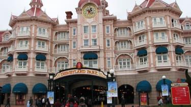 Entrée du parc Disneyland Paris