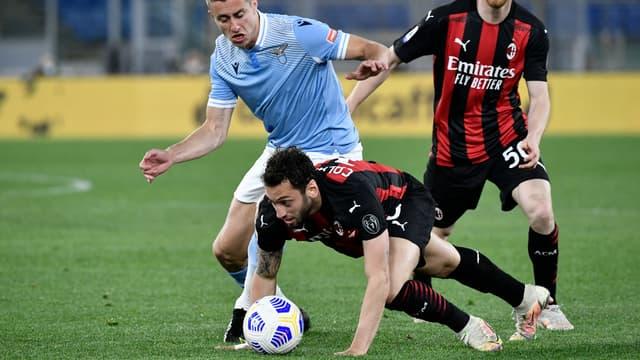 L'AC Milan lourdement battu par la Lazio