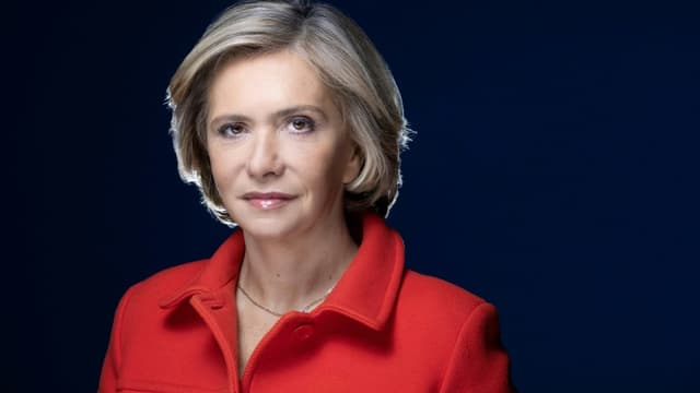 La présidente de la région Ile-de-France Valérie Pécresse (ex-LR), le 8 avril 2021 à Paris