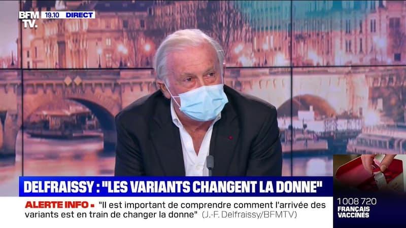 """Jean-François Delfraissy: """"Nous sommes le pays d'Europe dans la meilleure situation sanitaire"""""""