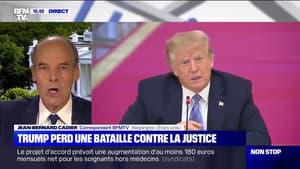 Donald Trump perd une importante bataille contre la justice