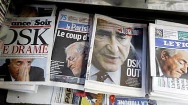 L'onde de choc provoquée par l'inculpation de Dominique Strauss-Kahn marque vraisemblablement la fin d'une exception française, qui a longtemps vu les médias taire ce qu'ils savaient de la vie privée des politiques. /Photo prise le 16 mai 2011/REUTERS/Cha
