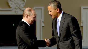 La poignée de main, puis l'entretien entre Barack Obama et Vladimir Poutine au G20 de Saint-Petersbourg le 5 septembre avaient marqué le réchauffement des relations russo-américaines.