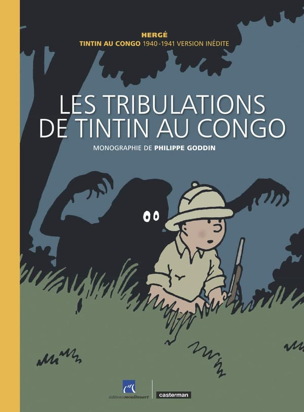 Couverture des Tribulations de Tintin au Congo