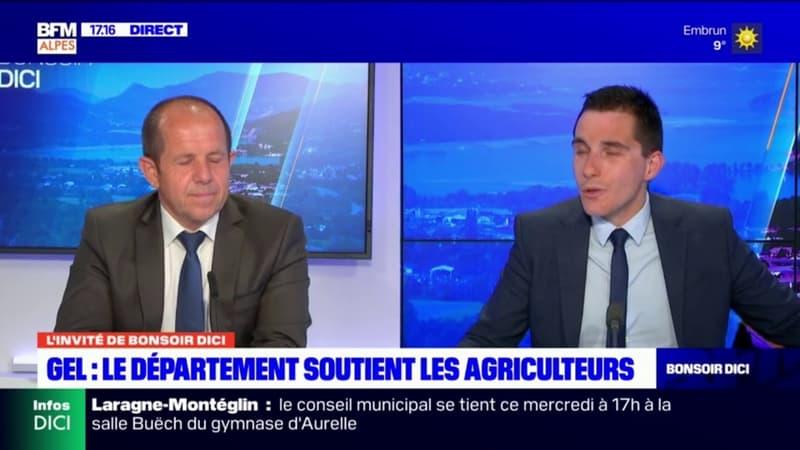 Gelées noires: Gérard Tenoux, vice-président des Hautes-Alpes promet un