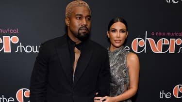 Kanye West et Kim Kardashian en décembre 2018