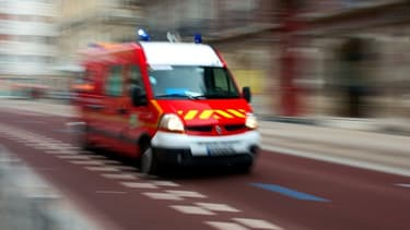 Les pompiers sont intervenus pour maîtriser l'incendie qui s'était propagé à une zone boisée, brûlant 3.500 m2 de pins.