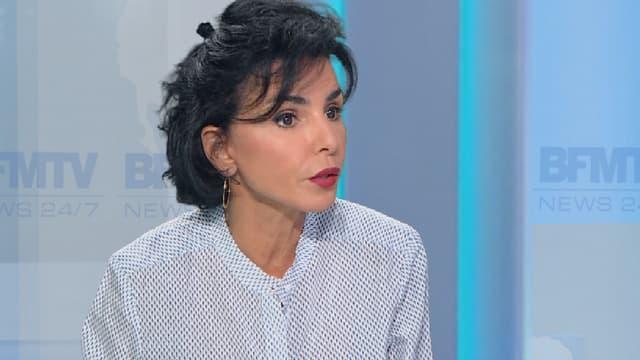 Rachida Dati était l'invitée de BFMTV, ce lundi soir.