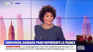 Eurovision : Barbara Pravi représente la France - 01/02