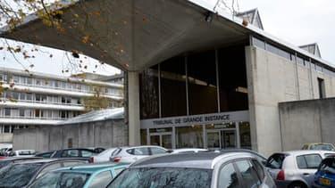 Le tribunal de grande instance de l'Essonne, où Jamel Leulmi a été condamné à 30 ans de réclusion criminelle, le 22 mai 2014.