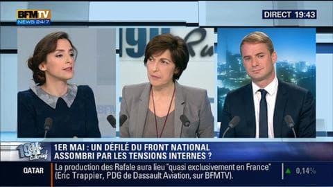 Anna Cabana face à David Revault d'Allonnes: Quelles seront les conséquences politiques tensions internes au sein du FN ?