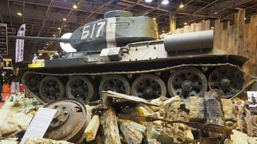 Le T34 est le char emblématique de la campagne soviétique lors de la Seconde Guerre Mondiale