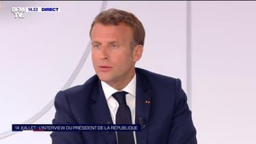 Contrôles au faciès: Emmanuel Macron promet une généralisation des caméras-piétons sur les policiers