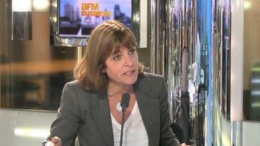 Anne Lauvergeon, ancienne présidente d'Areva, se défend sur BFMBusiness ce 14 mai