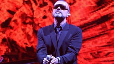 George Michael sur scène à Nice en 2011