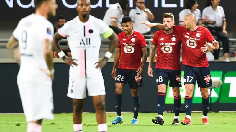 Trophée des champions: Xeka offre le titre à Lille face un PSG décevant