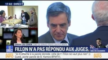 Pourquoi François Fillon n'a pas répondu aux questions des juges