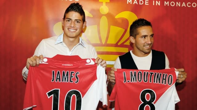 James Rodriguez et Joao Moutinho