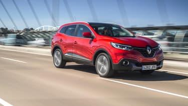 Le crossover Kadjar symbole de la démarche environnementale de Renault: il émet 99 grammes de CO2 par kilomètre. Il portera la nouvelle signature ECO2.