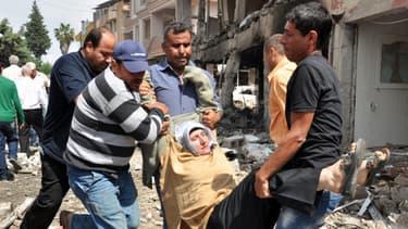 Une personne blessée évacuée samedi après les attentats à Reyhanli