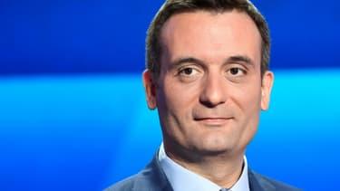 Florian Philippot lors d'un débat sur France 2, à Saint-Cloud dans les Hauts-de-Seine le 4 avril 2019
