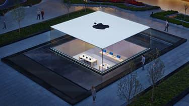 Dans ce très bel écrin de verre qu'est l'Apple Store d'Istanbul, l'iPhone est vendu l'équivalent de 946 euros, soit 200 euros de plus qu'en France.