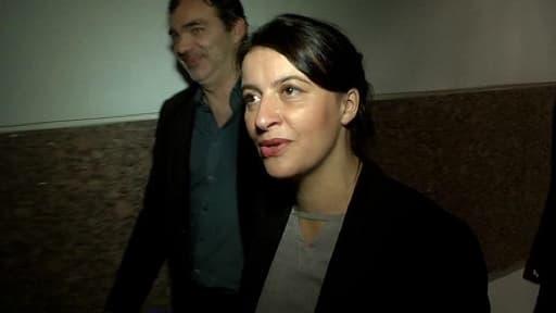 Cécile Duflot en visite à Montpellier vendredi 4 octobre