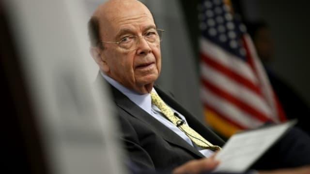 """Wilbur Ross, le secrétaire américain au Commerce, a critiqué les """"palabres infinies"""" à plusieurs pays,"""