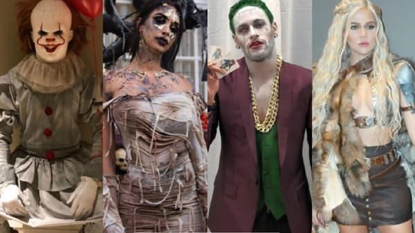LeBron James, Nabilla, Neymar ou Khloé Kardashian n'ont pas lésiné sur les moyens pour Halloween