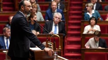 Edouard Philippe, lors de son discours de politique générale le 12 juin 2019