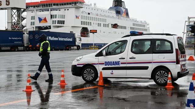 Le terminal Ferry à Calais (photo d'illustration)