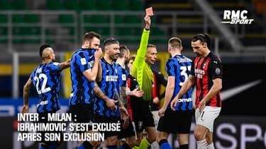 Inter - Milan : Ibrahimovic s'est excusé après son exclusion