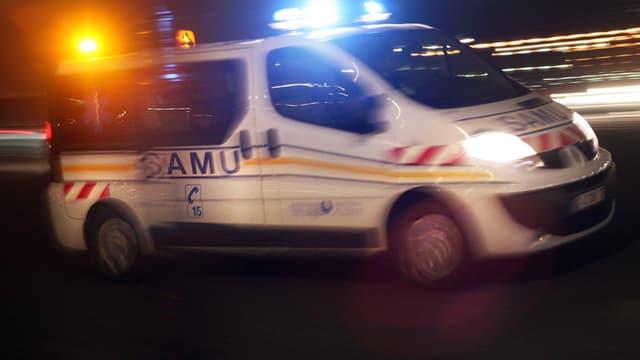 Un véhicule du Samu - Image d'illustration