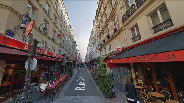 Vue de la rue Cadet
