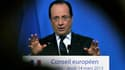 """La France """"prendra ses responsabilités"""" si un ou deux de ses partenaires européens s'opposent à la levée de l'embargo de l'Union sur la livraison d'armes à l'opposition syrienne, a annoncé jeudi François Hollande en marge du Conseil européen. /Photo prise"""