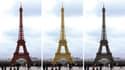 Depuis sa construction, la tour Eiffel a plusieurs fois changé de couleur.