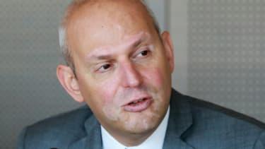 Jérôme Salomon lors d'une conférence de presse au ministère de la Santé, le 17 juillet 2019 à Paris.