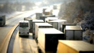 Les premiers bouchons se forment samedi matin sur l'A43 et l' A6.