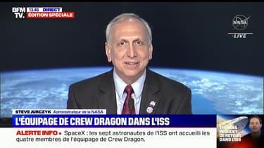 """SpaceX: l'administrateur de la Nasa estime que cette mission permettra à terme """"un retour sur la Lune"""""""