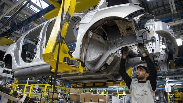 Image d'illustration : usine Renault-Nissan de Melloussa, au Maroc, le 12 mars 2018