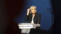 Marine Le Pen, le 1er mai 2017 à Villepinte.