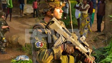 La photo capturée sur la page Facebook des opérations extérieures de l'armée.